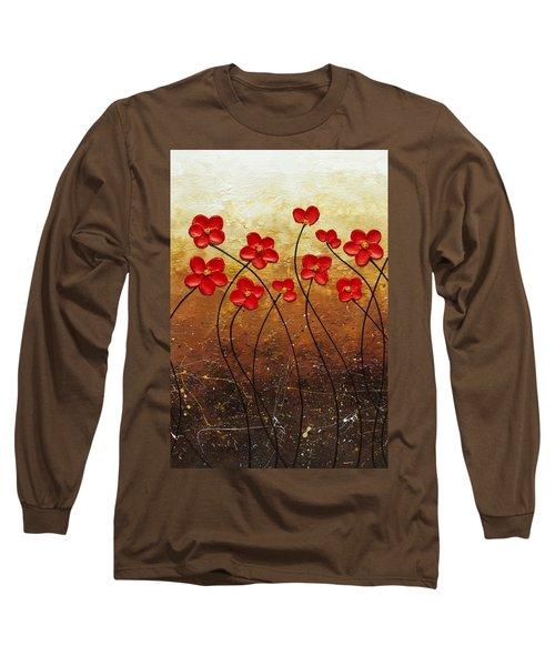 Flores De Mi Jardin 2 Long Sleeve T-Shirt