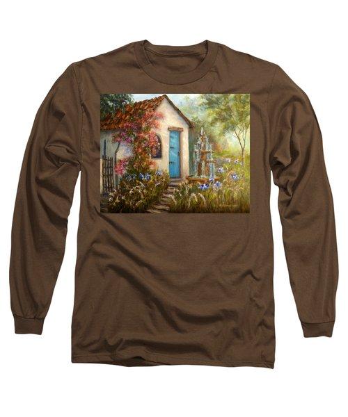 Flower Garden Paintings Long Sleeve T-Shirt