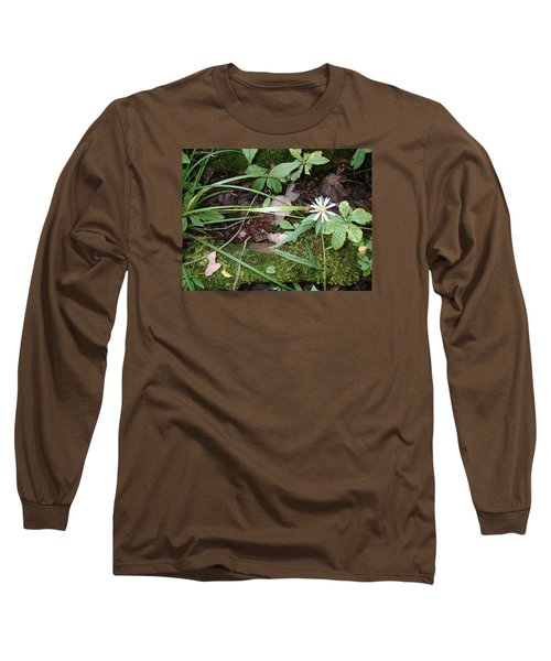 Flower In The Woods Long Sleeve T-Shirt