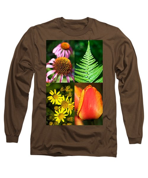 Flower Photo 4 Way Long Sleeve T-Shirt
