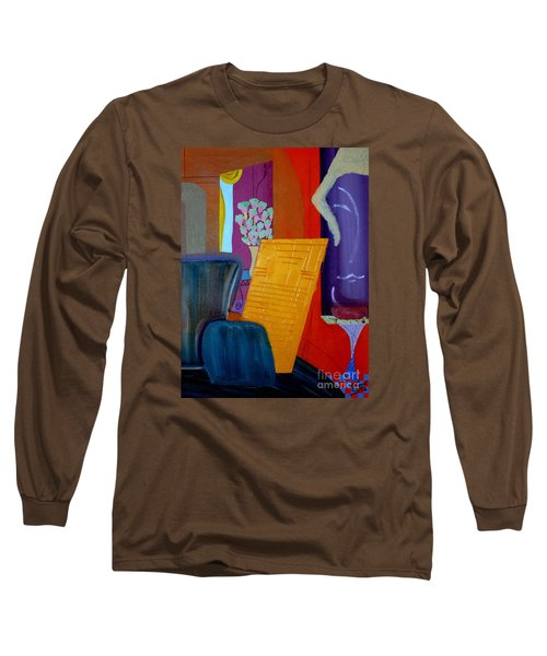 Flowers For Matisse Long Sleeve T-Shirt by Bill OConnor