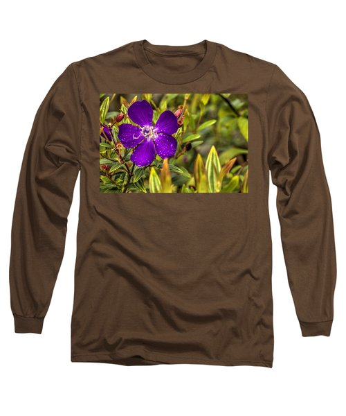 Flowers Love Water Long Sleeve T-Shirt