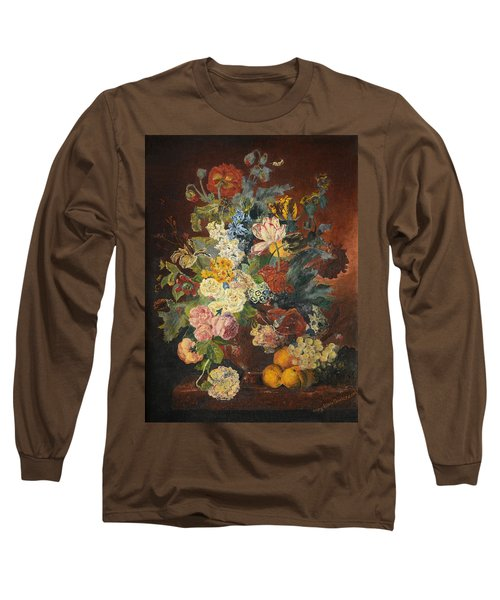 Flowers Of Light Long Sleeve T-Shirt by Mary Ellen Anderson