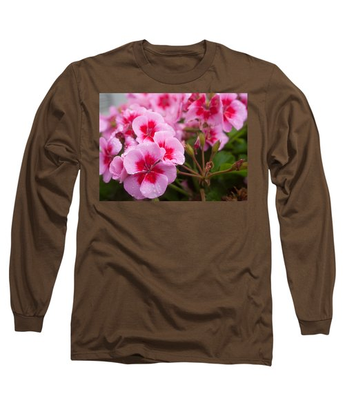 Flowers On A Rainy Sunday Afternoon Long Sleeve T-Shirt