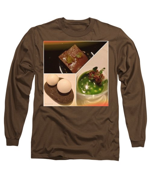 Snacks At Castagna Long Sleeve T-Shirt
