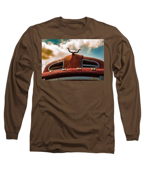 Ford Hood Ornament Long Sleeve T-Shirt
