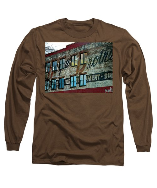 Fords Restaurant In Greenville Sc Long Sleeve T-Shirt by Kathy Barney