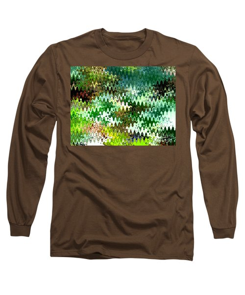 Long Sleeve T-Shirt featuring the photograph Forest by Anita Lewis