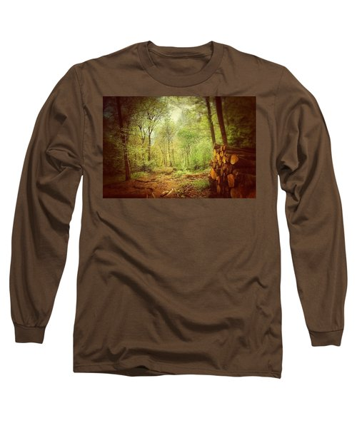 Forest Long Sleeve T-Shirt by Daniel Precht