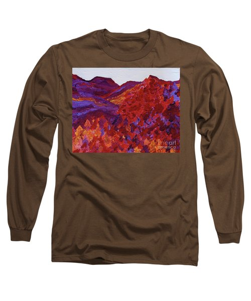 Long Sleeve T-Shirt featuring the painting Forest Fantasy By Jrr by First Star Art