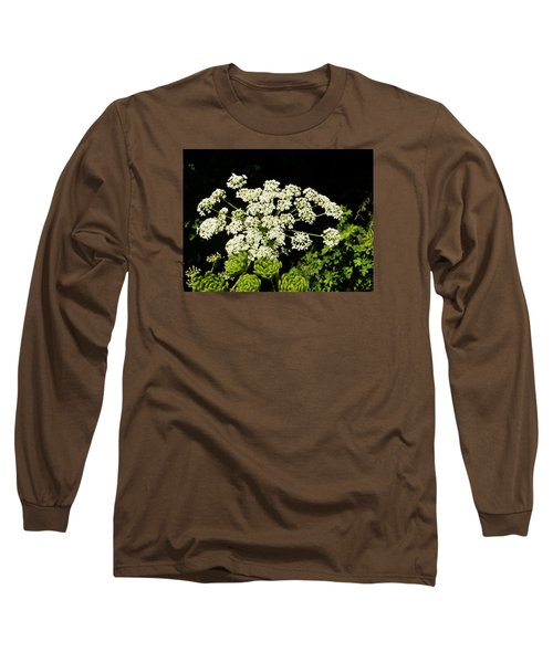 Long Sleeve T-Shirt featuring the photograph Forest Lace by VLee Watson