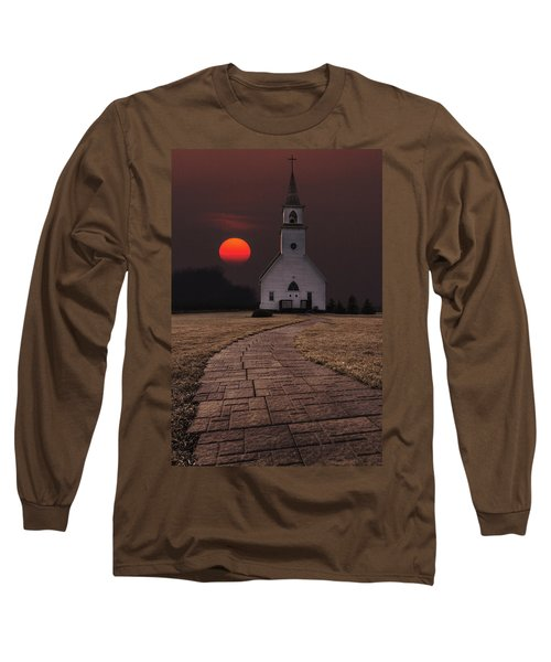 Fort Belmont Sunset Long Sleeve T-Shirt