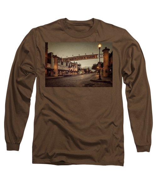 Fort Worth Stockyards Long Sleeve T-Shirt