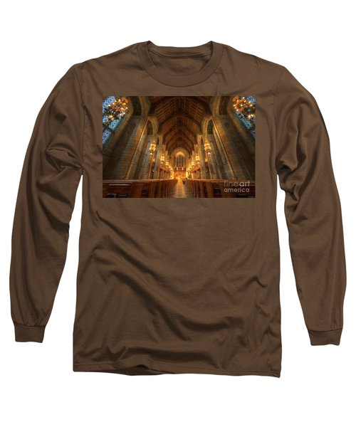 Fourth Presbyterian Church Chicago II Long Sleeve T-Shirt