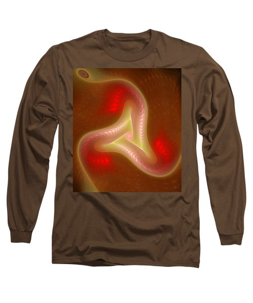 Fractal Triskelion Long Sleeve T-Shirt