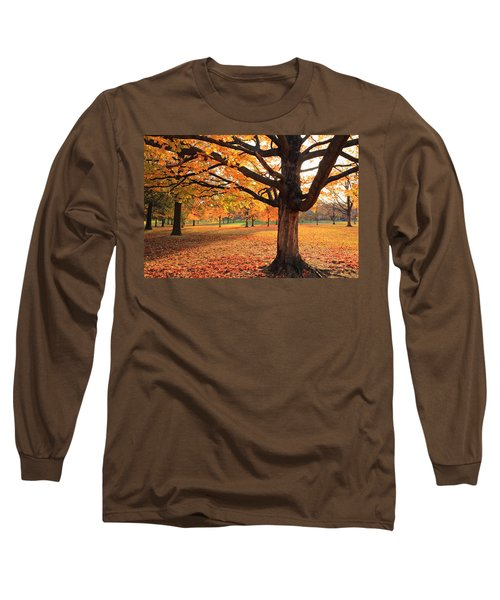 Francis Park Autumn Maple Long Sleeve T-Shirt