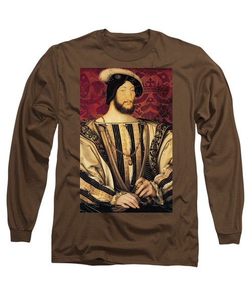 Francois I Long Sleeve T-Shirt by Jean Clouet