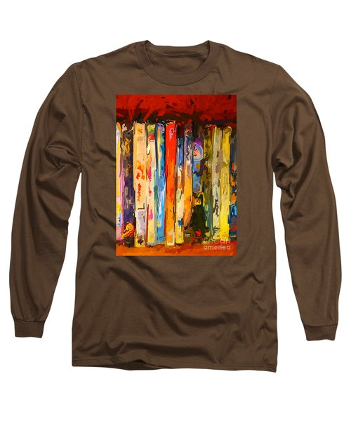 Free Your Mind Long Sleeve T-Shirt by Claudia Ellis