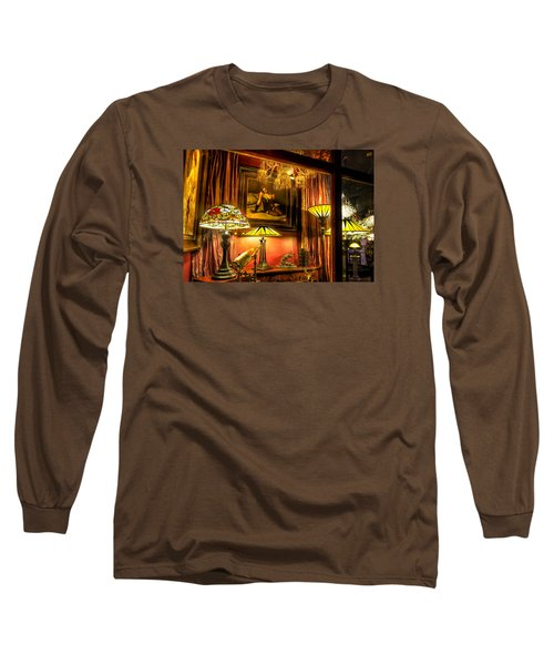 Long Sleeve T-Shirt featuring the photograph French Quarter Ambiance by Tim Stanley