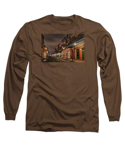 French Quarter Flags Long Sleeve T-Shirt