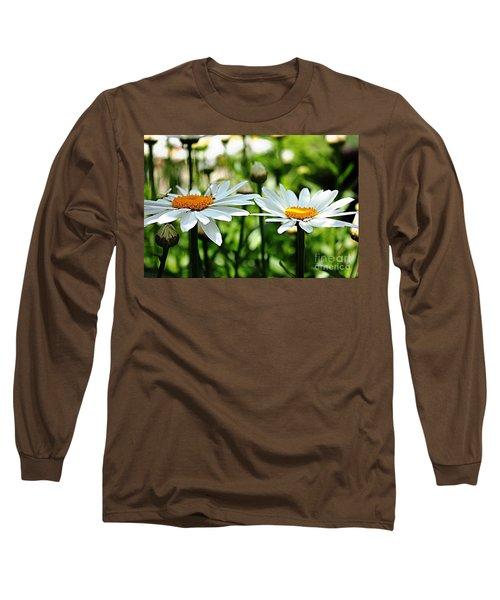Long Sleeve T-Shirt featuring the photograph Fresh As A Daisy by Judy Palkimas