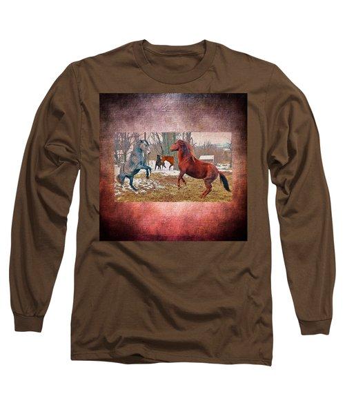 Friend Or Foe Long Sleeve T-Shirt