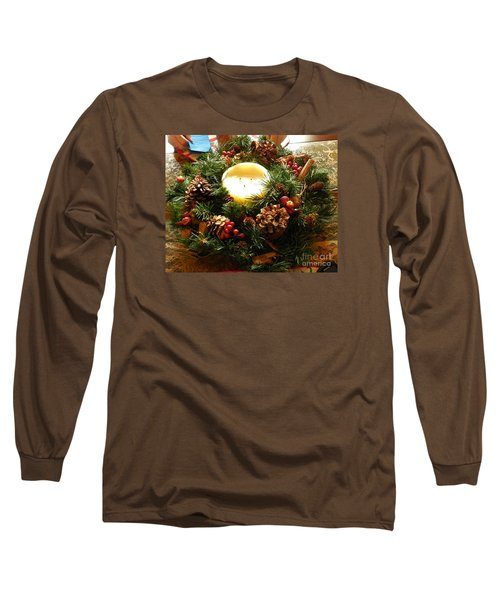 Long Sleeve T-Shirt featuring the photograph Friendly Holiday Reef by Robin Coaker