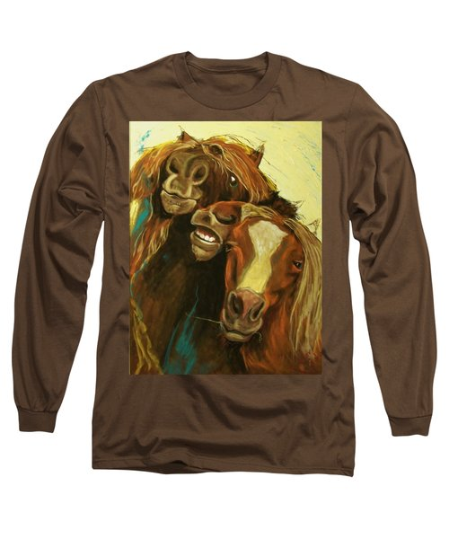 Friends Long Sleeve T-Shirt by Peter Suhocke