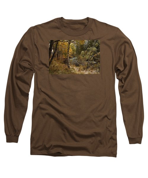 Frosty Fall  Morning Long Sleeve T-Shirt