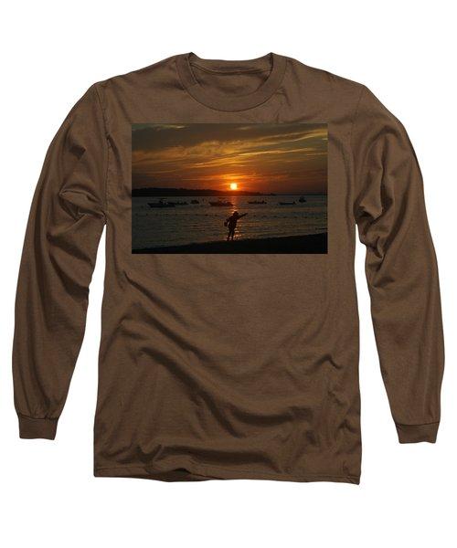 Fun At Sunset Long Sleeve T-Shirt