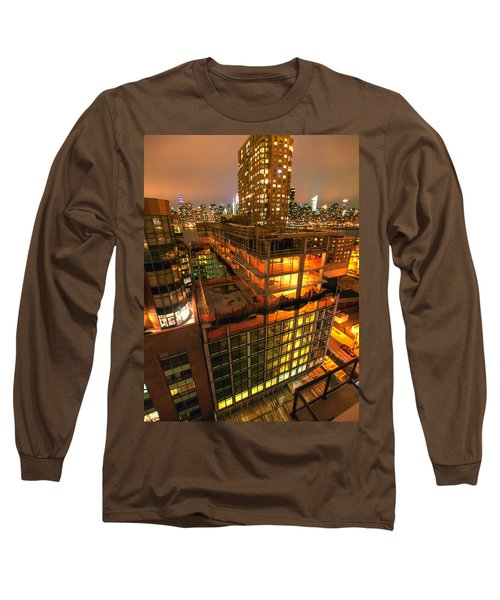 Future Views Long Sleeve T-Shirt by Steve Sahm