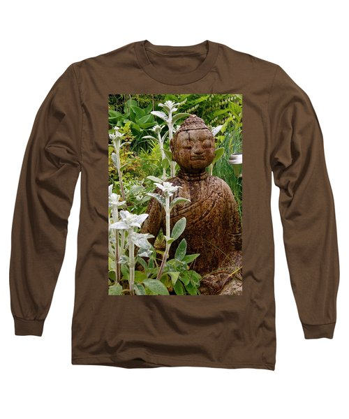 Garden Buddha Long Sleeve T-Shirt