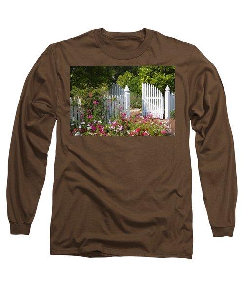 Garden Gate Long Sleeve T-Shirt