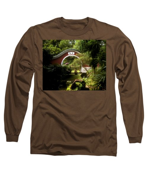 Garden Moon Gate 21e Long Sleeve T-Shirt