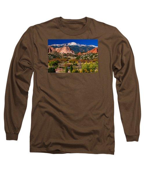 Garden Of The Gods In Autumn 2011 Long Sleeve T-Shirt