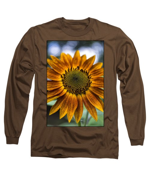 Garden Sunflower Long Sleeve T-Shirt