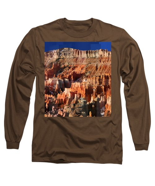 Geology Triptych - Three Long Sleeve T-Shirt