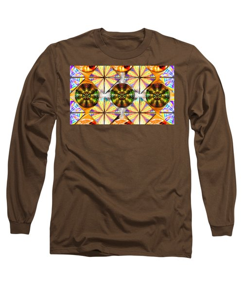 Geometric Dreamland Long Sleeve T-Shirt
