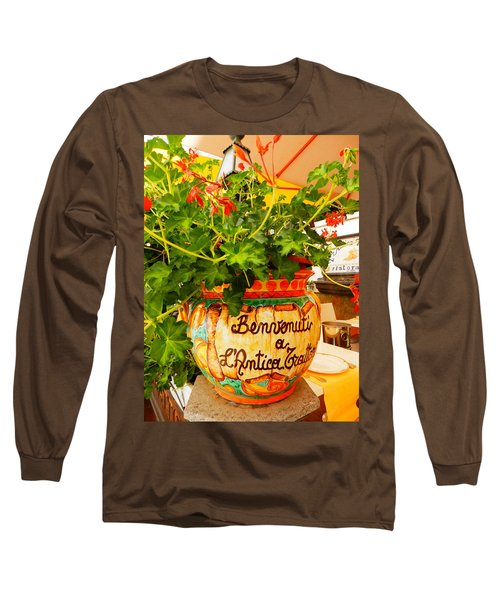 Geranium Planter Long Sleeve T-Shirt