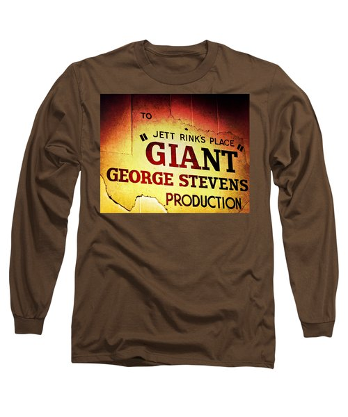 Giant Long Sleeve T-Shirt by Trish Mistric