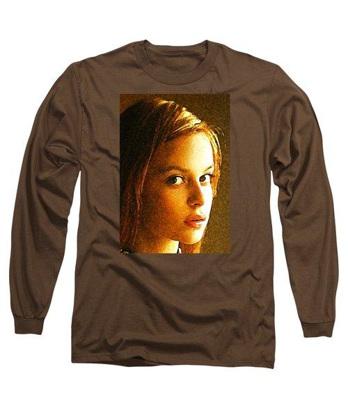 Girl Sans Long Sleeve T-Shirt by Richard Thomas
