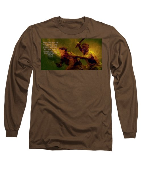 Long Sleeve T-Shirt featuring the photograph Gladiator  by Brian Reaves
