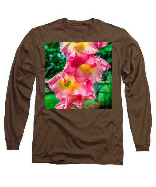 Long Sleeve T-Shirt featuring the photograph Gladiolus by Rob Sellers