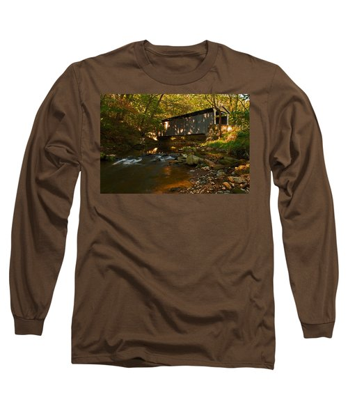 Glen Hope Covered Bridge Long Sleeve T-Shirt