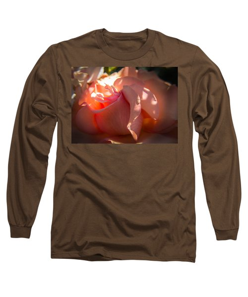Long Sleeve T-Shirt featuring the photograph Glowing Heart by Patricia Babbitt