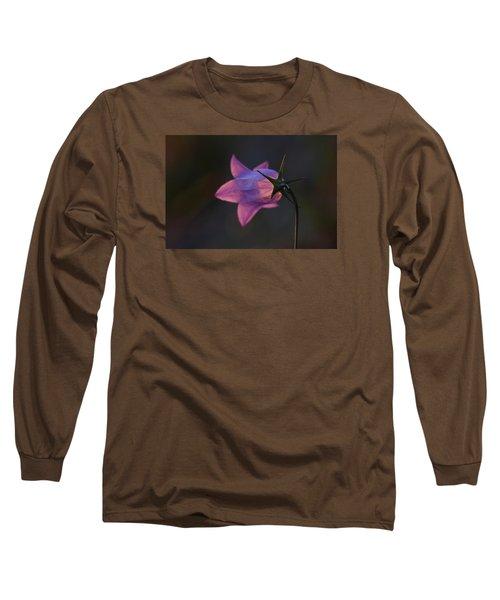 Glowing Sunset Flower Long Sleeve T-Shirt