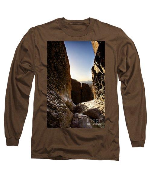 God's Eye View Long Sleeve T-Shirt by Erika Weber
