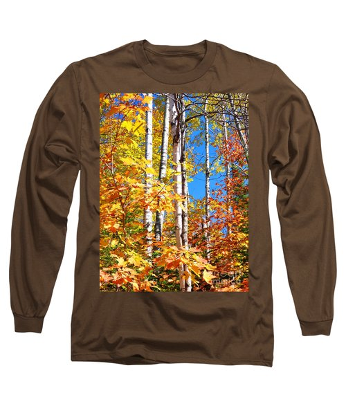Gold Autumn Long Sleeve T-Shirt