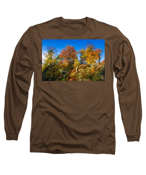 Golden Autumn On Neurathen Castle Long Sleeve T-Shirt
