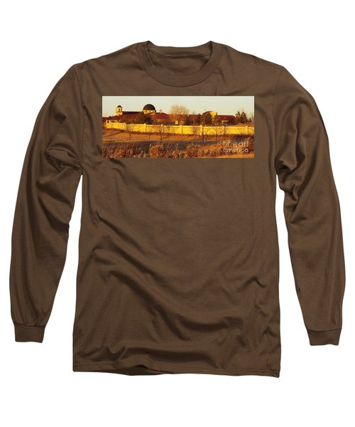 Golden Carmel Long Sleeve T-Shirt by Caryl J Bohn